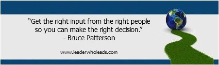 Bruce Patterson On Leadership Quotable Quotes