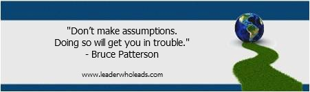 Bruce Patterson On Leadership Quotable Quote